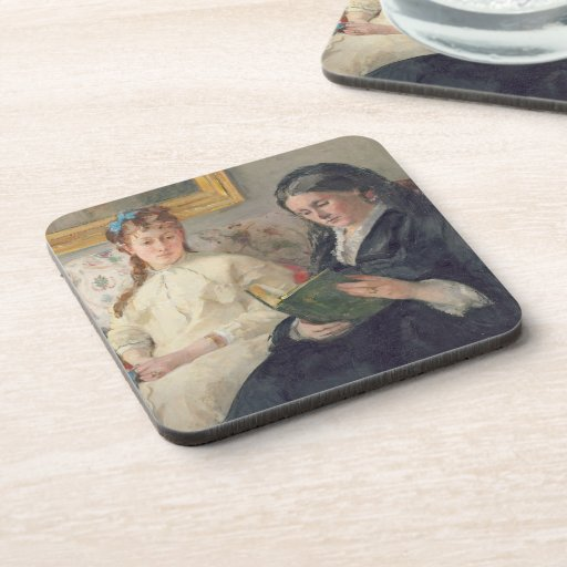 Portrait of the Artist's mother and sister Beverage Coasters