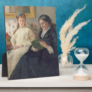 Portrait of the Artist's mother and sister Plaque