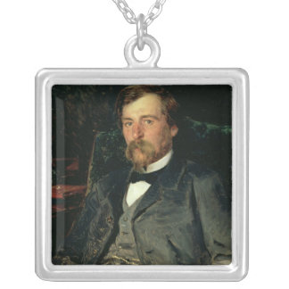 Portrait of the Artist Silver Plated Necklace