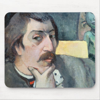 Portrait of the Artist with the Idol, c.1893 Mouse Pad