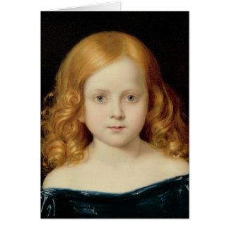 Portrait of the Artist's Daughter Card