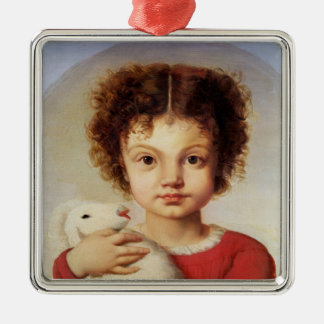 Portrait of the Artist's Daughter, Lina Christmas Ornament