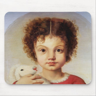 Portrait of the Artist's Daughter, Lina Mouse Mat