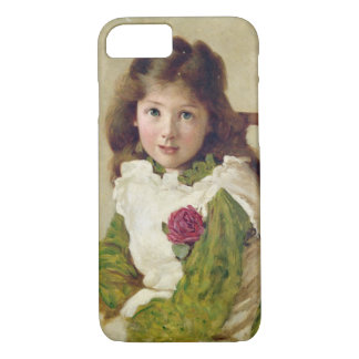 Portrait of the Artist's Daughter (oil on canvas) iPhone 8/7 Case