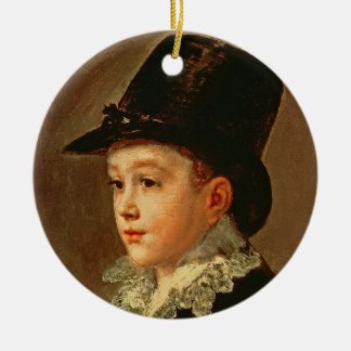Portrait of the Artist's Mother and Sister Christmas Ornament