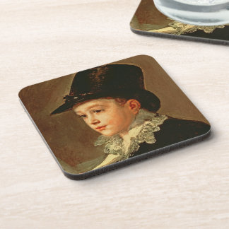 Portrait of the Artist's Mother and Sister Drink Coaster