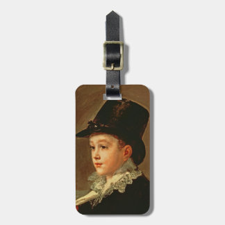 Portrait of the Artist's Mother and Sister Luggage Tag