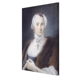 Portrait of the Artist's Mother, Cecilia Guardi, 1 Canvas Print