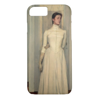 Portrait of the artist's sister, Marguerite Khnopf iPhone 8/7 Case