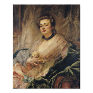 Portrait of the Artist's Wife Poster