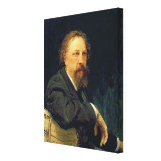 Portrait of the Author Count Alexey K. Tolstoy Canvas Print