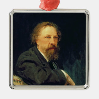 Portrait of the Author Count Alexey K. Tolstoy Christmas Ornament