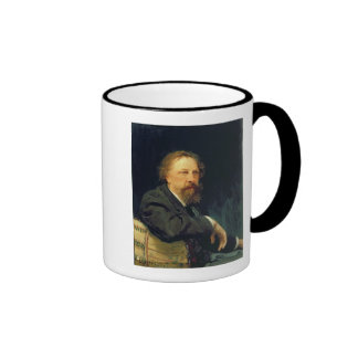 Portrait of the Author Count Alexey K. Tolstoy Ringer Mug
