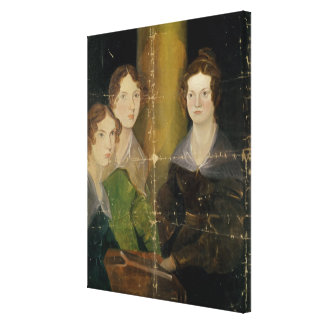 Portrait of the Bronte Sisters, c.1834 Gallery Wrap Canvas