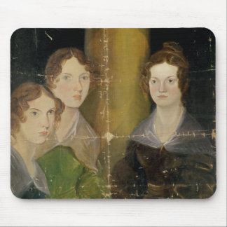 Portrait of the Bronte Sisters, c.1834 Mouse Mat