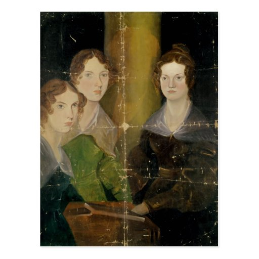 Portrait of the Bronte Sisters, c.1834 Post Card