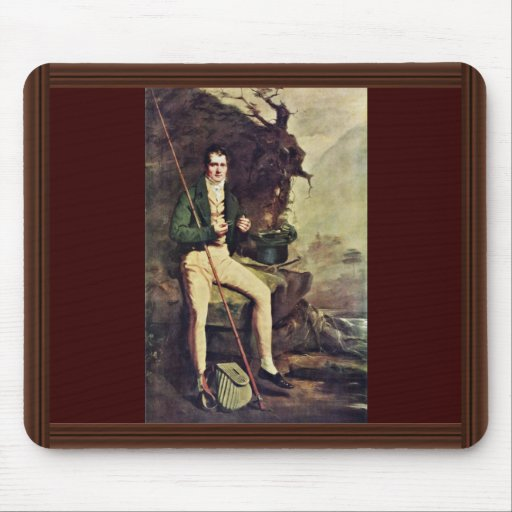 Portrait Of The Bryce Mcmurdo By Raeburn Sir Henry Mouse Pads