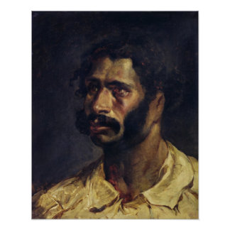Portrait of the Carpenter of 'The Medusa' Print