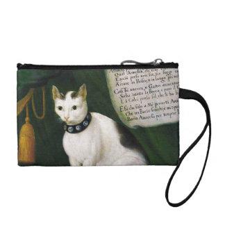 Portrait of the Cat Armellino Change Purse