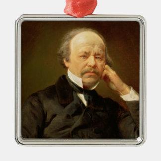 Portrait of the Composer Christmas Ornament