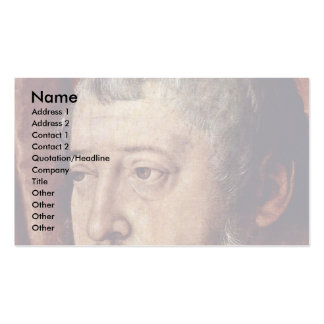 Portrait Of The Count Palatine Otto Heinrich Detai Business Cards