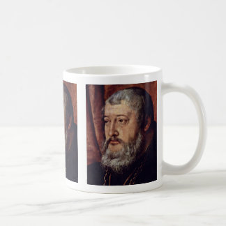 Portrait Of The Count Palatine Otto Heinrich Detai Mug