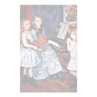 Portrait Of The Daughters Of Catulle-Mendes Customized Stationery