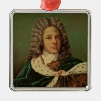 Portrait of the Duc de Saint-Simon Christmas Ornament