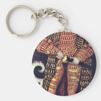 Portrait Of The Duke Of Saxony, Henry The Pious By Keychains