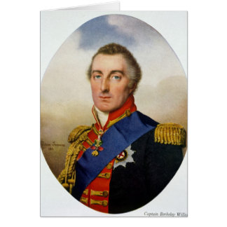 Portrait of the Duke of Wellington Greeting Card
