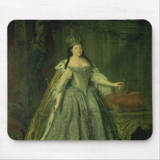 Portrait of the Empress Anna Ivanovna  1730 Mouse Mat