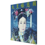 Portrait of the Empress Dowager Cixi Gallery Wrap Canvas