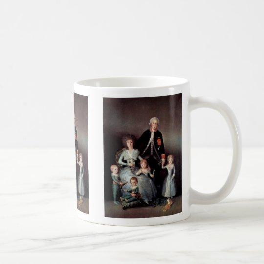 Portrait Of The Family Of The Duke Of Osuna Coffee Mug