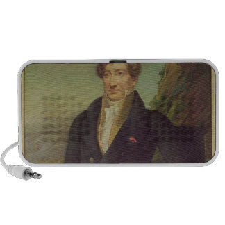 Portrait of the French Zoologist Mini Speaker