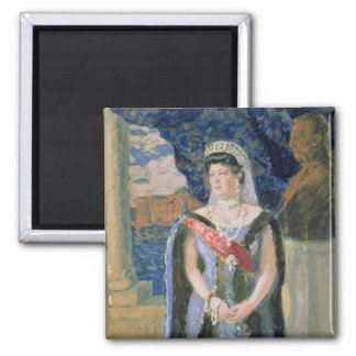 Portrait of the Grand Duchess Maria Pavlovna Magnet