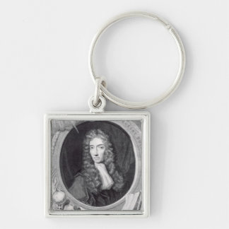 Portrait of the Honorable Robert Boyle Key Chains