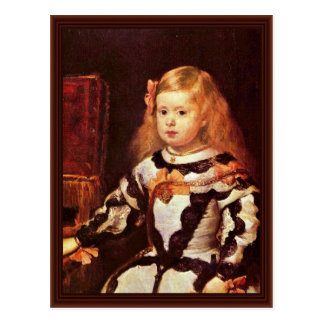 Portrait Of The Infanta Maria Margarita Postcard
