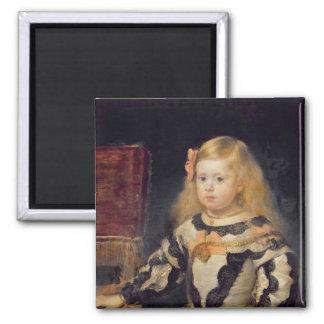 Portrait of the Infanta Maria Marguerita  1654 Refrigerator Magnet