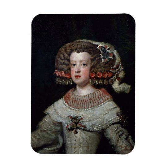 Portrait of the Infanta Maria Teresa (1638-83) fut Rectangular Photo Magnet