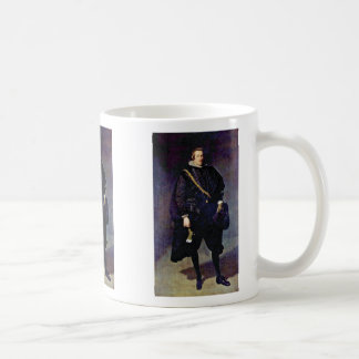 Portrait Of The Infante Don Carlos Basic White Mug