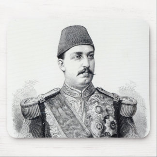 Portrait of The Khedive Tawfig Mouse Pad