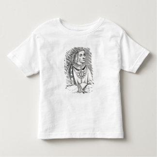 Portrait of the Last Inca Chief, Atahualpa Toddler T-Shirt
