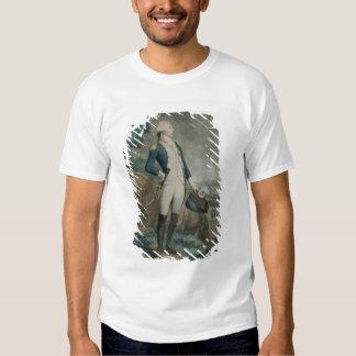Portrait of the Marquis de La Fayette Tee Shirt