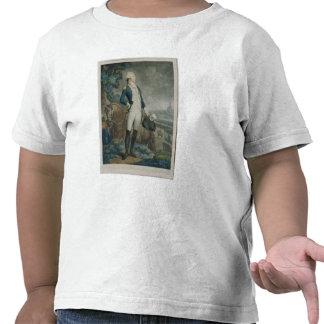 Portrait of the Marquis de La Fayette T Shirts
