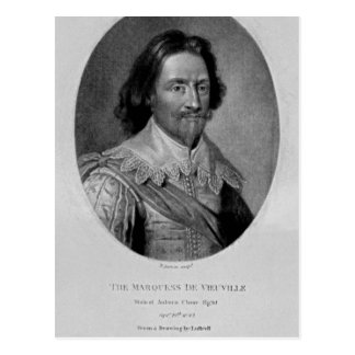 Portrait of The Marquis of Vieu Ville Postcard