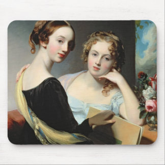 Portrait of the McEuen sisters, after 1823 Mouse Mat
