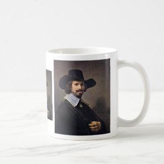 Portrait Of The Painter Hendrick Martenszoon. Coffee Mug