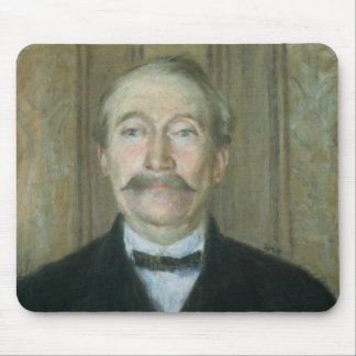 Portrait of the Patriarch (pastel on paper) Mouse Mat