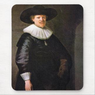 Portrait of the poet Jan Hermansz Krul Mouse Pad