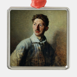 Portrait of the poet Sergey Gorodetsky  1909 Christmas Ornament